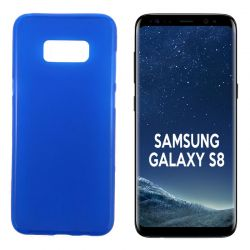 Funda TPU Mate Lisa para Samsung Galaxy S8 Silicona Flexible Azul