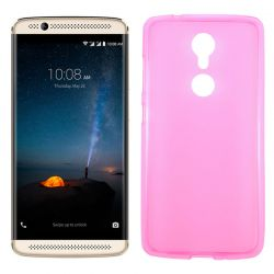 Funda de TPU Mate Lisa para ZTE Axon 7 Mini Silicona Flexible Rosa