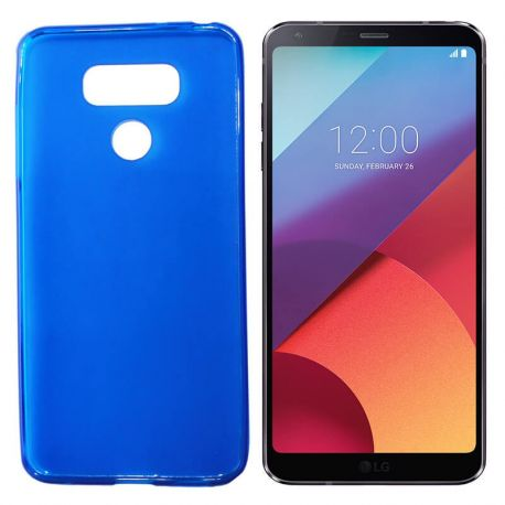 Funda de TPU Mate Lisa para LG G6 Silicona Flexible Azul