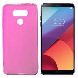Funda de TPU Mate Lisa para LG G6 Silicona Flexible Rosa