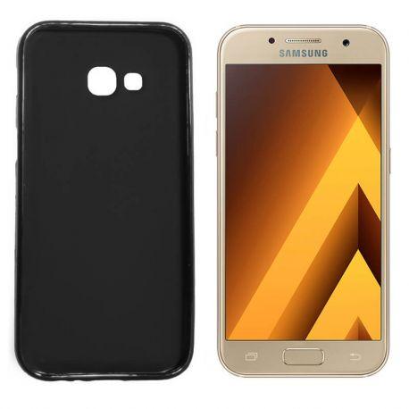 Funda TPU Mate Lisa Samsung Galaxy A3 2017 Silicona Flexible Negro