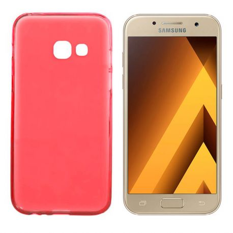 Funda TPU Mate Lisa Samsung Galaxy A3 2017 Silicona Flexible Rojo