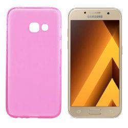 Funda TPU Mate Lisa Samsung Galaxy A3 2017 Silicona Flexible Rosa