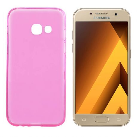 Funda TPU Mate Lisa Samsung Galaxy A3 2017 Silicona Flexible Rosa