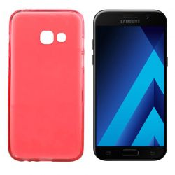 Funda TPU Mate Lisa Samsung Galaxy A5 2017 Silicona Flexible Rojo
