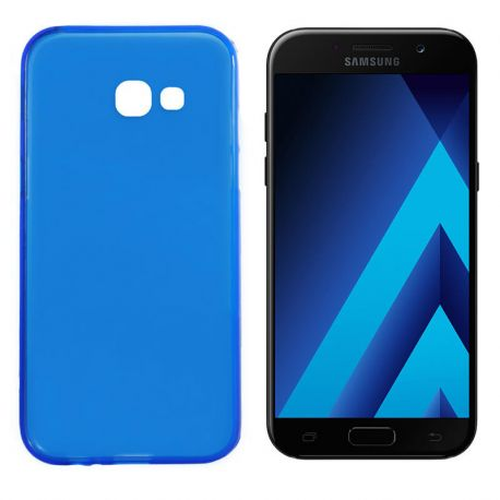 Funda TPU Mate Lisa Samsung Galaxy A5 2017 Silicona Flexible Azul