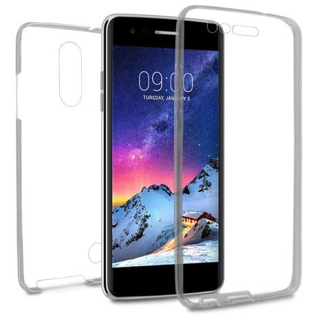 Funda TPU Doble Frontal Trasera 360 Ultra Thin LG K4 2017 / K8 2017