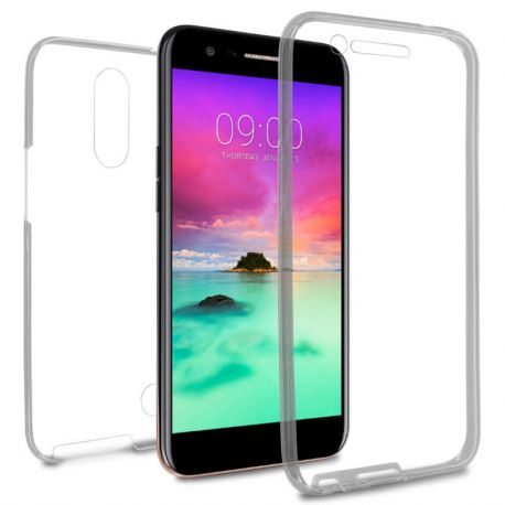 Funda TPU Doble Frontal Trasera 360 Ultra Thin para LG K10 2017