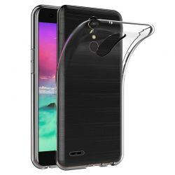 Funda TPU Transparente para LG K10 2017 Silicona Ultra Thin Fina