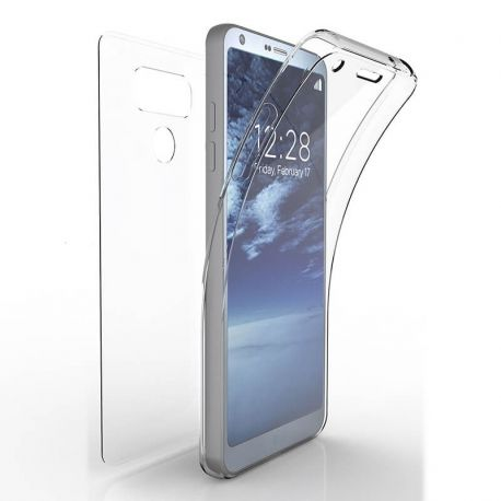 Funda TPU Doble Frontal y Trasera 360 Ultra Thin para LG G6