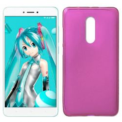 Funda TPU Mate Lisa para Xiaomi Redmi Note 4X Silicona Rosa