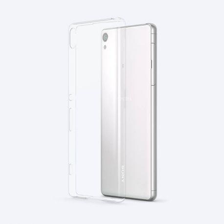 Funda Original Sony Style Cover fina y transparente para Xperia XA