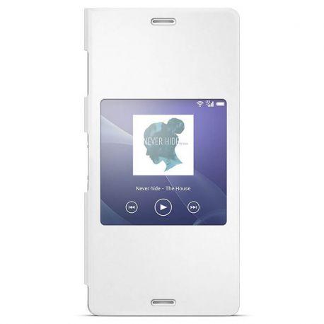 Funda Flip Cover con Ventana inteligente Original Sony Xperia Z3