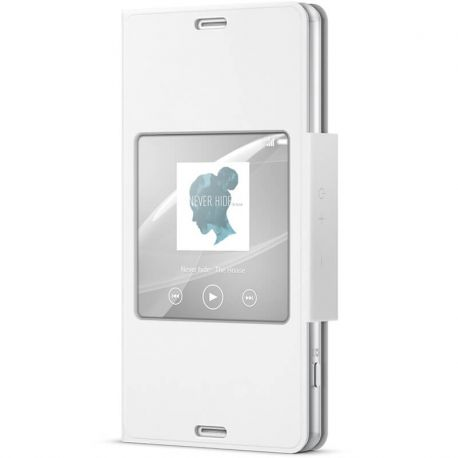 Funda con Ventana inteligente Original Sony Xperia Z3 Compact