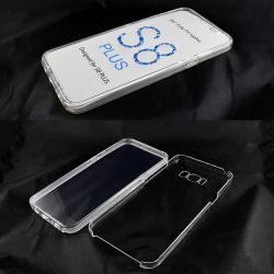 Funda TPU Doble 360 Frontal Trasera Sin Puntos Samsung Galaxy S8 Plus