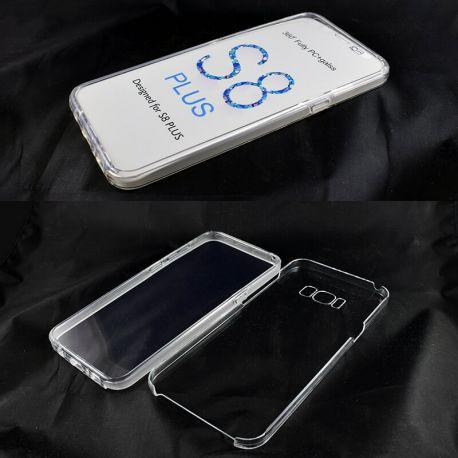 Funda TPU Doble 360 Frontal Trasera Sin Puntos Samsung Galaxy S8 Plus