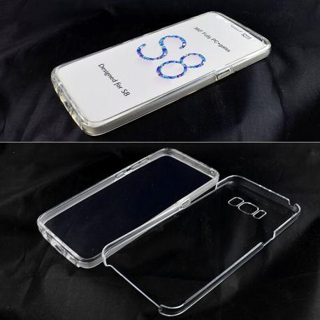 Funda TPU Doble 360 Frontal Trasera Sin Puntos Samsung Galaxy S8
