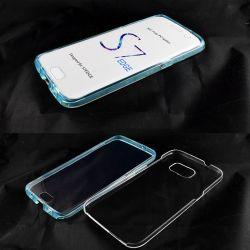 Funda TPU Doble 360 Frontal Trasera Sin Puntos Samsung Galaxy S7 Edge