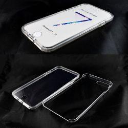 Funda de TPU Doble 360 Frontal Trasera Sin Puntos para iPhone 7 / 8