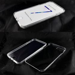 Funda TPU Doble 360 Frontal Trasera Sin Puntos para iPhone 7 Plus