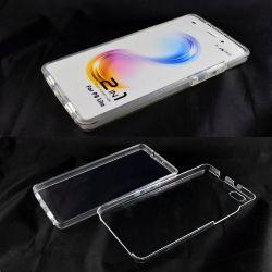 Funda Doble Huawei P8 Lite 360 Delantera y Trasera Sin Puntos