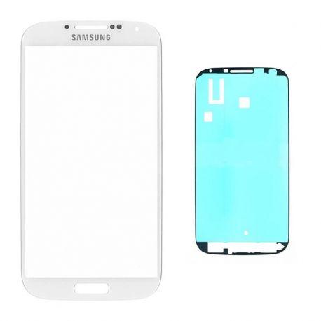 Cristal Blanco para pantalla de Samsung Galaxy S4 + Adhesivo