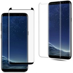 Protector pantalla Cristal Templado Completo Curvo Samsung Galaxy S8