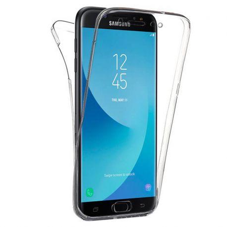 Funda TPU Doble Frontal Trasera 360 para Samsung Galaxy J7 2017
