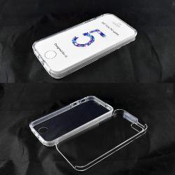 Funda de TPU Doble 360 Delantera Trasera Sin Puntos iPhone 5 / 5S / SE