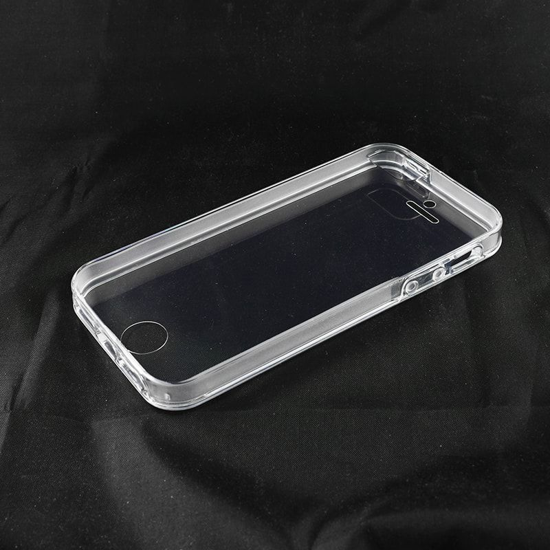 FUNDA IPHONE SE 5S 5 GEL TPU 360 COVER TAPA PROTECTOR DOBLE