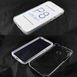 Funda TPU Doble 360 Frontal Trasera Sin Puntos Huawei P8 Lite 2017