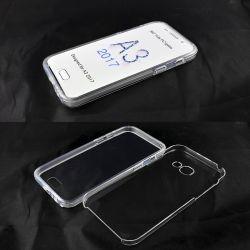 Funda TPU Doble 360 Frontal Trasera Sin Puntos Samsung Galaxy A3 2017
