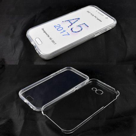 Funda TPU Doble 360 Frontal Trasera Sin Puntos Samsung Galaxy A5 2017