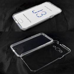Funda TPU Doble 360 Frontal Trasera Sin Puntos Samsung Galaxy J3 2016