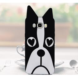 Funda 3D de Silicona Perro con Ojos de Corazon para Samsung Galaxy S3