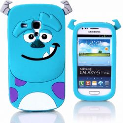 Funda 3D de Silicona Sulley Monstruos para Samsung Galaxy S3 Mini
