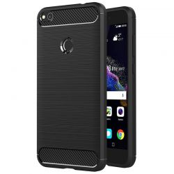 Funda TPU Forcell Carbon con diseño fibra carbono Huawei P8 Lite 2017