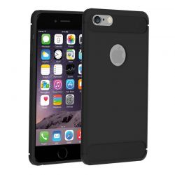 Funda TPU Forcell Carbon con diseño fibra carbono - iPhone 6 / 6S