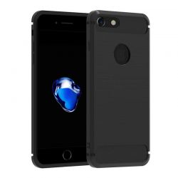 Funda TPU Forcell Carbon con diseño fibra de carbono - iPhone 7 / 8