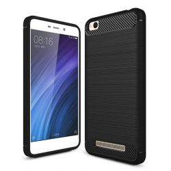 Funda TPU Forcell Carbon con diseño fibra carbono - Xiaomi Redmi 4A