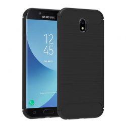 Funda TPU Forcell Carbon tipo fibra de carbono Samsung Galaxy J5 2017
