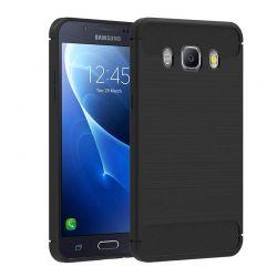 Funda TPU Forcell Carbon tipo fibra de carbono Samsung Galaxy J3 2016