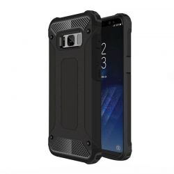 Funda Forcell Armor Tech híbrida para Samsung Galaxy S8 Plus Negro