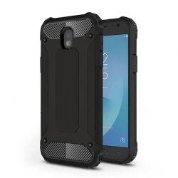 Funda Forcell Armor Tech híbrida para Samsung Galaxy J7 2017 Negro