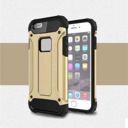 Funda Forcell Armor Tech híbrida para iPhone 6 y 6S Dorado
