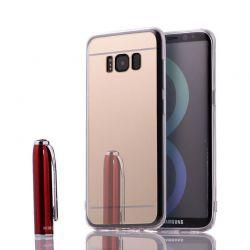 Funda Mirror Gel TPU efecto Espejo Samsung Galaxy S8 Plus Dorado