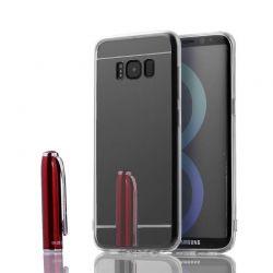 Funda Mirror Gel TPU efecto Espejo Samsung Galaxy S8 Plus Gris