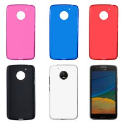 Funda Trasera TPU Mate para Motorola Moto G5 Silicona Flexible