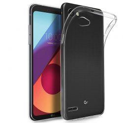 Funda de TPU, Silicona flexible transparente para LG Q6