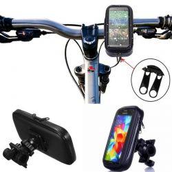 Funda impermeable y soporte universal para Moto y Bici - 5,5 pulgadas